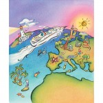 Brochure cover for European cruises
