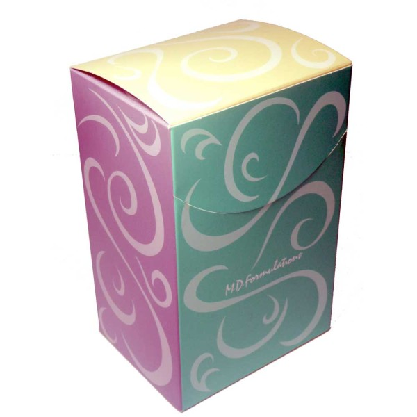Designed to be a gift box when shrink wrap with labels is removed